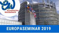 Preisträger*innenreise nach Straßburg   Europäischer Wettbewerb 2019