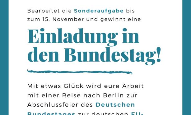 Bundestag   Sonderpreis zur deutschen EU-Ratspräsidentschaft